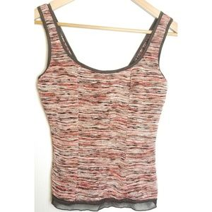 Dressbarn shelf tank top medium